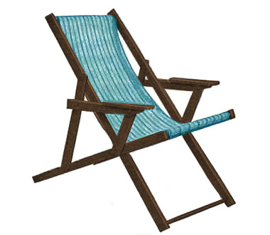 Attractive Sling Beach Chair Plans