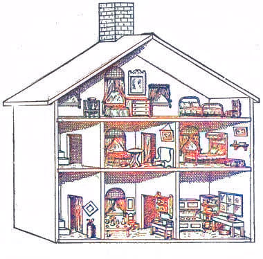 Free Dollhouse Plans Build A Dollhouse With Free Plans