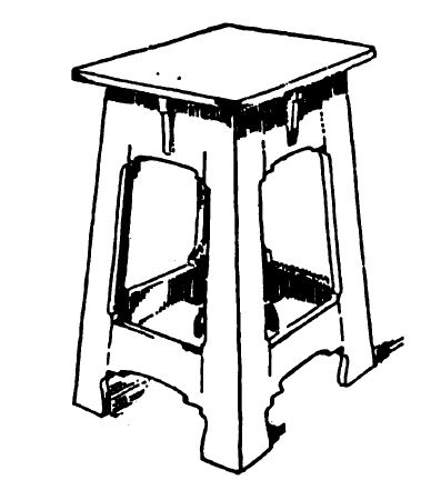 Pedestal Stand or Stool Plans