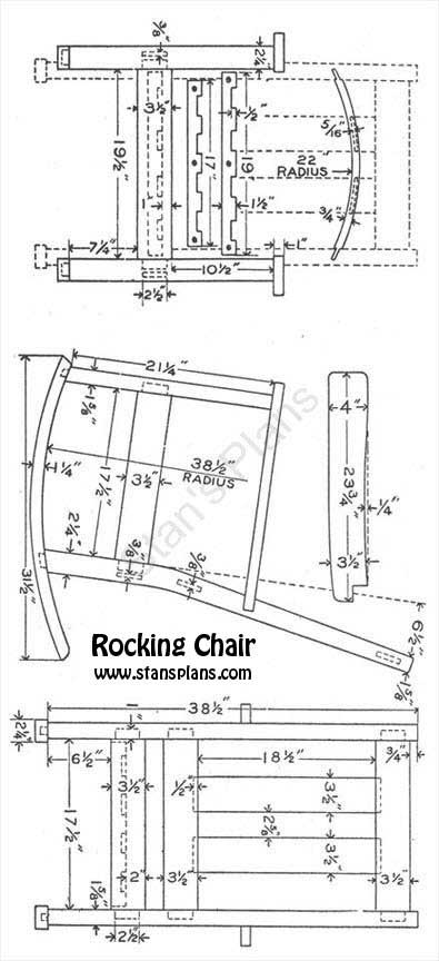 Simple Home or Return back to the Rocking Chair page Photos - Contemporary rocking chair plans Model